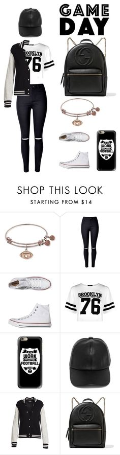 """Untitled #147"" by theresedvr on Polyvore featuring Converse, Boohoo, Casetify, LULUS, Marc Jacobs and Gucci"
