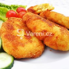 Plněné bramborové placky recept - Vareni.cz French Toast, Breakfast, Food, Morning Coffee, Essen, Meals, Yemek, Eten