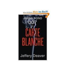 "First time I'll be reading a Bond novel. Jeffery Deaver is good. Loved ""The Blue Nowhere."""