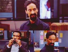 Abed: Of all the timelines, this is clearly the darkest, which is why I propose we commit to being evil. I made us all black goatees out of felt, I suggest you put them on until you're able to grow your own. From now on I am Evil Abed. We are the Evil Study Group, and we have but one evil goal: return somehow to the prime timeline, the one where I stopped you from rolling that die. Then we destroy the good versions of ourselves and reclaim our proper lives.