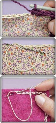 Способы обвязки ткани или кожи