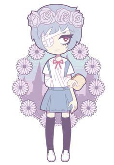 NGE: Rei Ayanami by nekozneko on DeviantArt
