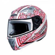 Caberg Full face child's motorcycle helmet   V-Gal Flower   BBB