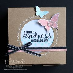 nutmeg creations: Kinda Eclectic Gift Box by Cindy Schuster