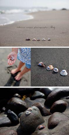 googly eye shells!