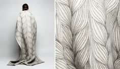 Naturpledd blankets by Kristine Five Melvaer from Røros Tweed, launched May 2015 at ICFF, where they earned an Editors Award for best textile. Blankets, Product Launch, Accessories, Home, Design, Ad Home, Blanket, Homes, Carpet