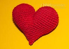 Amigurumi - Herzlichstes Herz häkeln - Anleitung