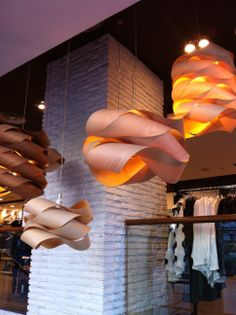 LZF Lamps Unique wood lighting design since 1994 #WoodLighting #LZF #Design #Light #WoodTouchedByLight #LinkChain