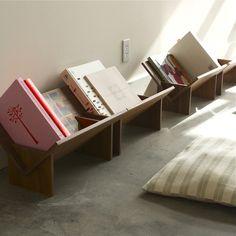 in natural walnut ply in 2019 storage книжные полки, ш Book Furniture, Furniture Design, House Furniture, Luxury Furniture, Deco Kids, Book Storage, Baby Kind, Old Wood, Wood Pallets