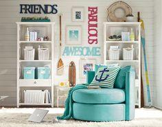Lounge Room Decorating Ideas   Nautical Theme   PBteen
