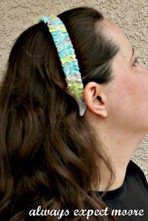 Simple Ruffle Headband - Headband Week - Always Expect Moore