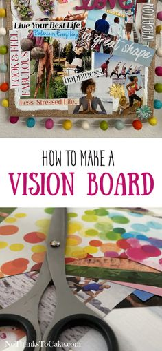 That Time I Reset My 2020 Goals during Quarantine {How to Make a Vision Board}