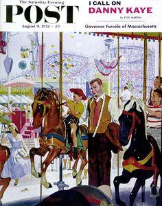 """Amusement Park Carousel"" by Earl Mayan"