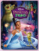 The Princess And The Frog - DVD Cover
