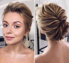 The post appeared first on Dress Models. - - (notitle) The post appeared first on Dress Models. Vintage Wedding Hair, Short Wedding Hair, Wedding Hair And Makeup, Hair Makeup, Wedding Up Do, Bride Hairstyles, Easy Hairstyles, Bridal Hair Inspiration, Braut Make-up