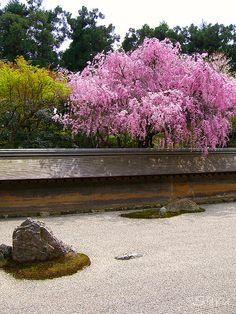 Ryoanji (UNESCO World Heritage site) by AnotherSaru, via Flickr