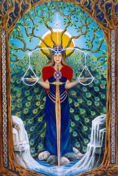 tarot 11 justice | justice 11 inner balance justice stands holding her scales in balance ...