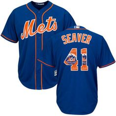 05584a66b33 Mets  41 Tom Seaver Blue Team Logo Fashion Stitched MLB Jersey.  Lillianjerseys · New York Mets Jerseys  18