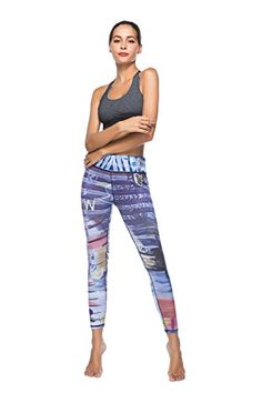 30497ca1a6f 50 Best Womens Printed Yoga Workout Pants Leggings images ...