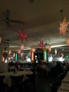 French Restaurant Christmas Decor - St Pete FL