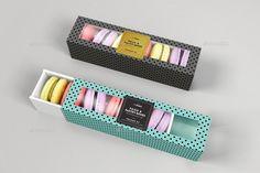 Food Pastry Boxes Kekse Macarons Pastry nehmen Verpackung Mock Ups # Macaroon Packaging, Macaroon Box, Cookie Packaging, Flower Packaging, Food Packaging, Brand Packaging, Packaging Design, Macarons, Best Chocolate Gifts