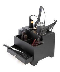 Another great find on #zulily! Black Three-Compartment Hair Organizer #zulilyfinds