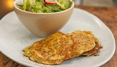 Vegetable Haloumi Pancake - Good Chef Bad Chef