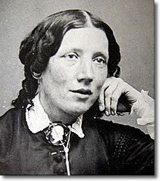 Harriet Beecher Stowe-writer of Uncle Tom's Cabin based on the fight against slavery in America