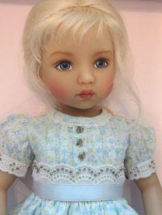"Dianna Effner Little Darling # 1 Doll 13"" ""Brooke"" Painted by Helen Skiner #DiannaEffner"