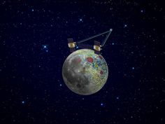 Early Tidal and Rotational Forces Helped Shape Moon