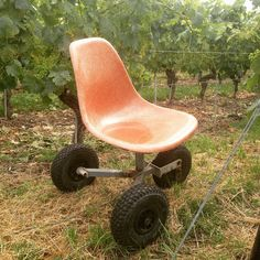 Rolling down the vineyard in style #eames #design #offroad #madetolast #classic #vineyardvines #switzerland #originalgangsta #hacked