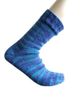 Sokken Safari Blauw maat 43-44 van Carolinevantveer op Etsy