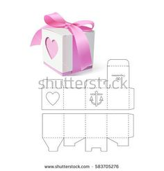 Retail Gift Box with Die Cut Template - Regalos Diy Gift Box, Diy Box, Diy Gifts, Gift Boxes, Paper Gifts, Diy Paper, Paper Box Template, Box Templates, Papier Diy
