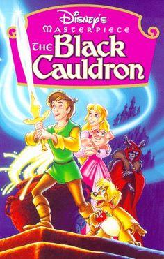 The Black Cauldron 1985. Great movie but often forgotten about. Taran en de toverketel