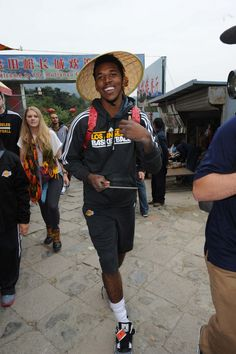 Nick Young in China