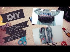 DIY DENIM JACKET | TENDENCIA 2016