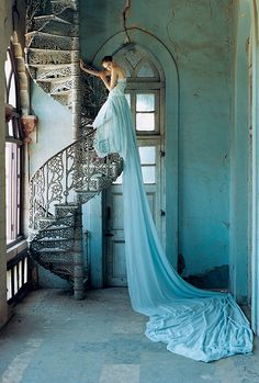 Fashion Photography...Lily Cole by Tim Walker for Vogue.