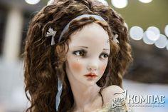 """Головка куклы """"Алисы"""", автор Алисы Филипповой"""