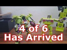Generation Toy Bulldozer Transformers 3rd Party BoneCrusher - YouTube