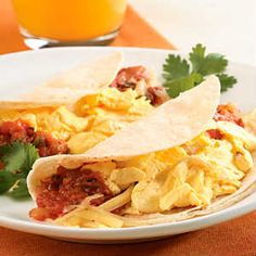 Quick Breakfast Taco... Provided By:   Back-to-School Eats: 17 Healthy Recipes for Kids  When the kids head back to school, your food focus shifts to preplanned breakfasts, lunches, and snacks. We've got 17 healthy ideas your kids are sure to love.    Appeal to your kids' taste buds at the dinner table too with these 8 kid-friendly dinners you can cook together.
