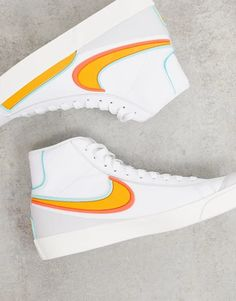 Cute Nike Shoes, Cute Sneakers, Nike Air Shoes, Swag Shoes, Aesthetic Shoes, Fresh Shoes, Hype Shoes, Pretty Shoes, Sneakers Fashion