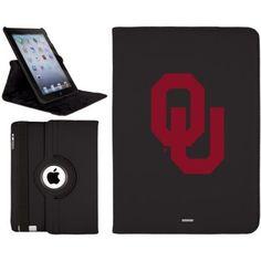 Celebrate your Oklahoma Sooners fandom with this iPad Mini Retina Swivel case!