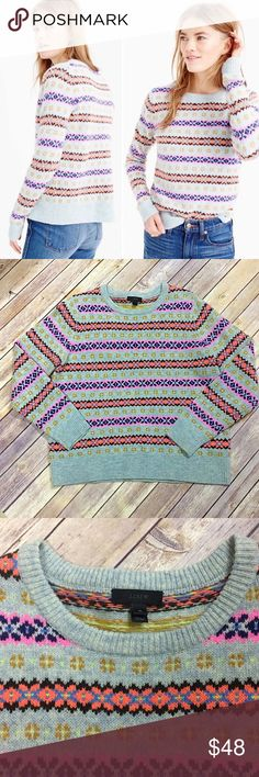 GAP Candyland Colorful Wool Striped Tunic Sweater | Gap style ...
