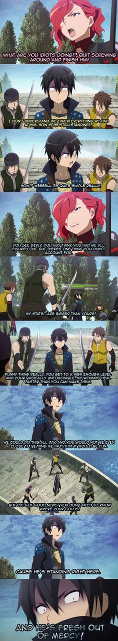 From SAO SWEabridged kirito goes insane