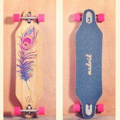 Skate deck art inspiration. #deckart #boardart #skateboarding #girlswhoskate #skate