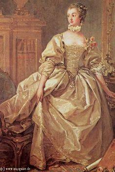 Marquise de Pompadour by Boucher