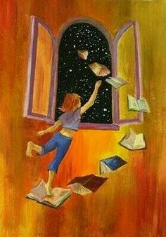 i love books Art And Illustration, Illustrations, Reading Art, World Of Books, Book Images, I Love Books, Book Nerd, Cute Wallpapers, Book Lovers