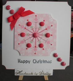 'Embellish Me' toppers by Craftwork Cards.
