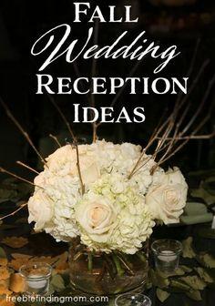 Fall Wedding Recepti