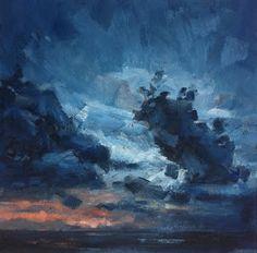 Gregory Mason's Paintings: Blue Sky Paintings